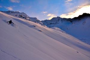 Bis die Sonne dann letztendlich auch hinter den Gipfeln verschwand