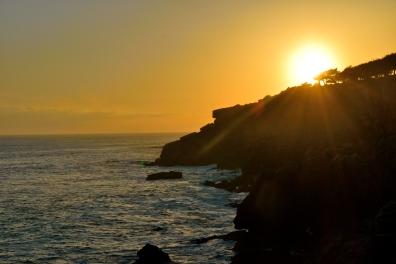 Sonnenuntergang in Cascais