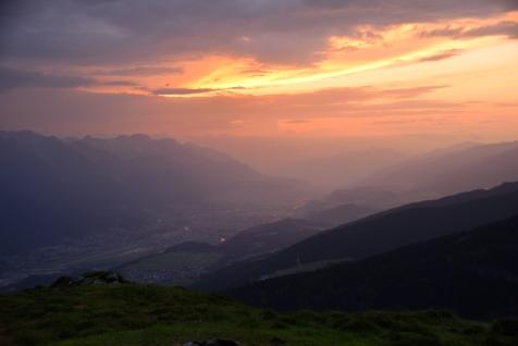 Sonnenaufgang über der schönsten Stadt de Welt ;)