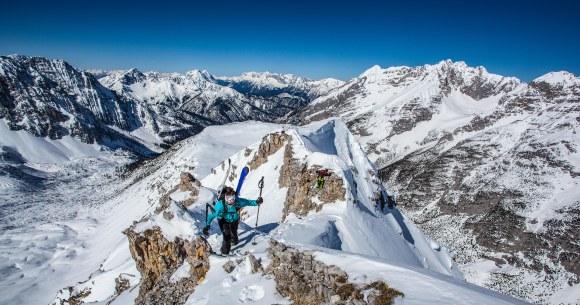 Steffi beim Aufstieg © Matthias Sauren