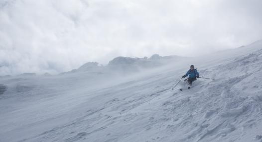 Der Gletscher im Hintergrund ©Matze