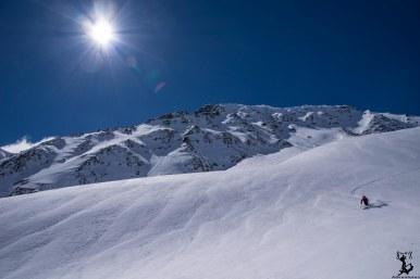 Die Sonne und der Schnee zauberten uns ein Lächeln ins Gesicht