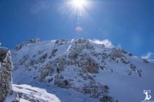 Klettersteigset sowie Helm sind Pflicht!