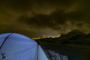 """Unser """"Zeltlager"""" über den Dächern Innsbrucks"""