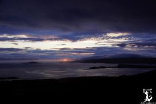 Sunset nach Regentag auf Mull