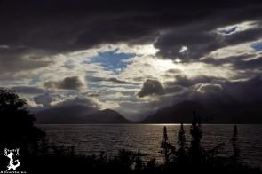 Wechselnde Wetterfronten erzeugen fantastische Bilder