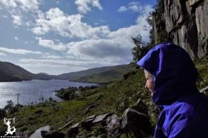 Blick auf Loch Eilt im Klettergebiet Ranochan