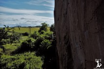 Klettern nahe Edinburgh