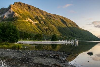 Norwegentypische Szenerie