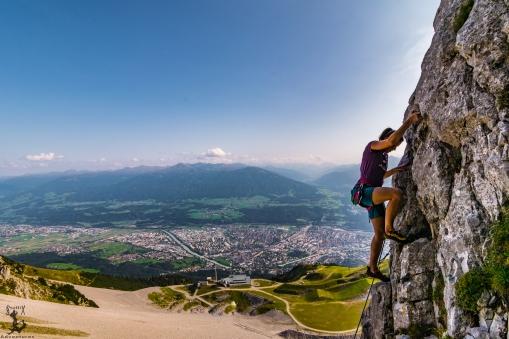 Über den Dächern Innsbrucks