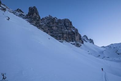 """Aufstieg entlang der """"Innsbrucker Dolomiten"""""""