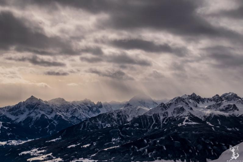 Das Nordketten-Panorama am Samstag