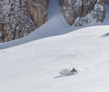 Super Schnee-Bedingungen! Pic: Matthias Sauren