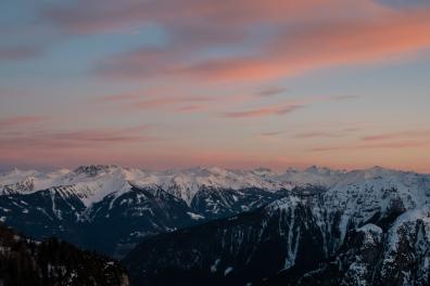 Blick Richtung Innsbruck