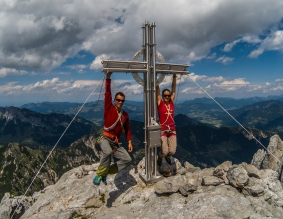 Der Gipfel der Fleischbank (2186m)