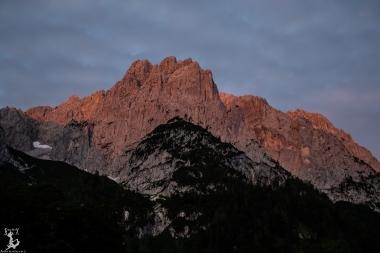 --- und Sonnenaufgang am Wilden Kaiser