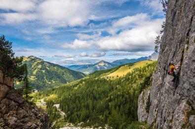 """Klettern am """"Traumpfeiler"""""""
