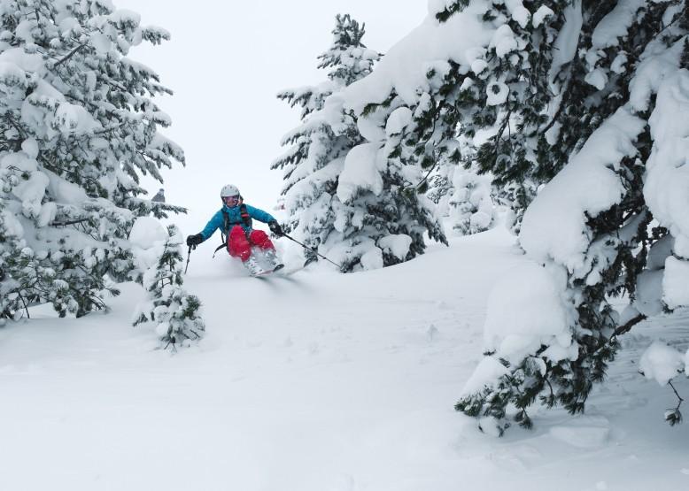 Tiefer Schnee und tiefe Lage © Felix Dorn (www.felixdorn.com)