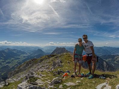 Gipfel der Kopfkraxen (2178m)