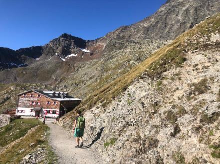 Die Innsbrucker Hütte