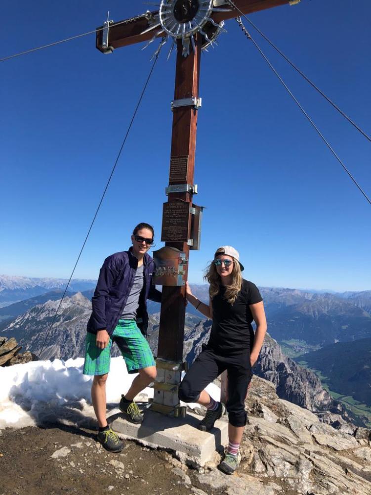 Der Gipfel des Habicht (3277m)
