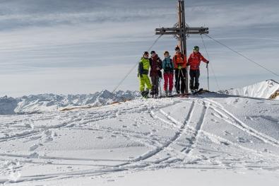 Obligatorisches Gipfelfoto
